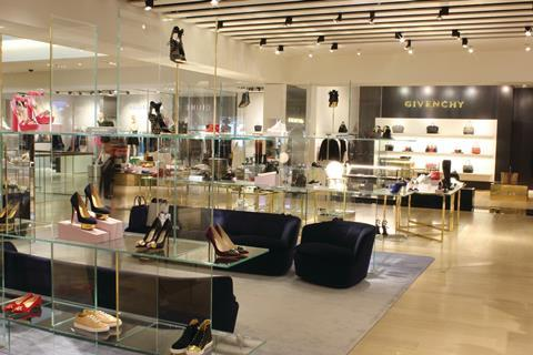 570680b72 Selfridges. The second-floor women's shoe department is the biggest of its  kind in the UK outside London
